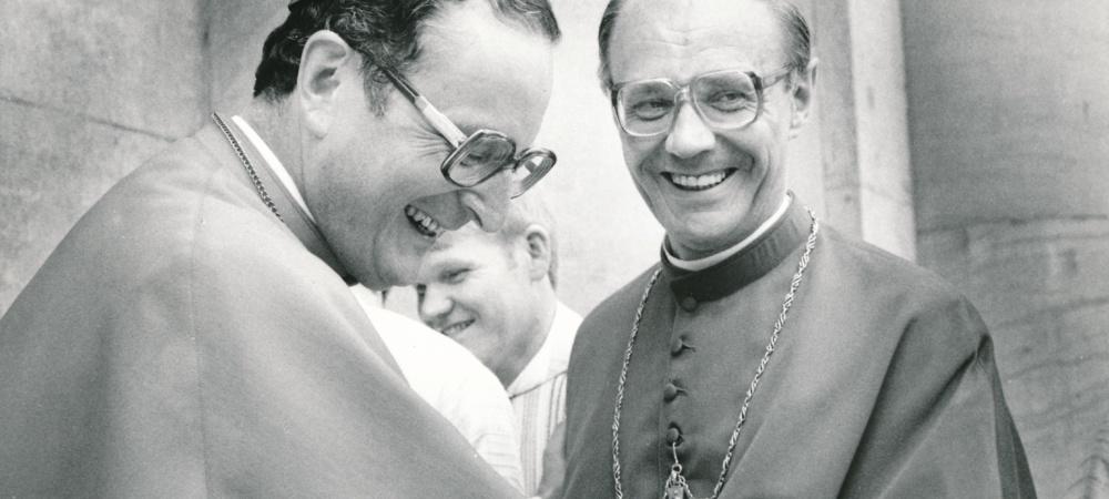1983 Nach einer Priesterweihe bei St. Hedwig