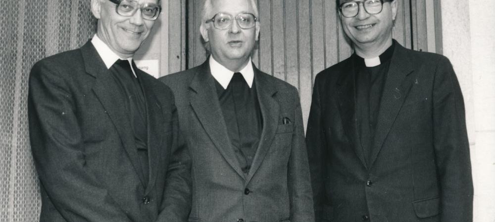 Weihbischof Weider mit Bischof Georg Sterzinski und Generalvikar Steinke