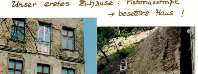 Das besetzte Haus: Pistorius Straße 38 1991