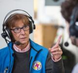 Ursula Czajka, Leiterin Der Bahnhofsmission Am Berliner Ostbahnh