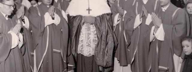 Priesterweihe von Nikolaus Timpe am 17.12.1960 mit Julius Kardinal Döpfner